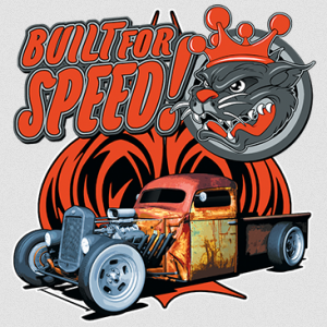 BUILT FOR SPEED